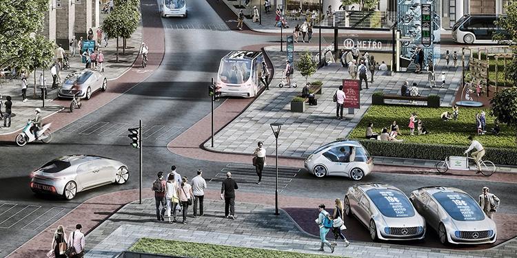 Bosch и Daimler запускают в Сан-Хосе услугу с использованием автономных автомобилей