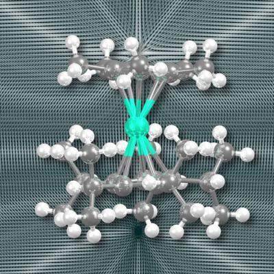 Найден первый высокотемпературный одномолекулярный магнит