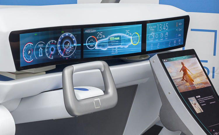 Japan Display занимает 19% растущего мирового рынка автомобильных дисплеев
