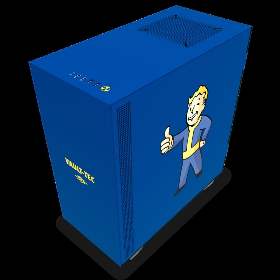 Корпуса NZXT H500 Vault Boy обойдутся в 5999 грн