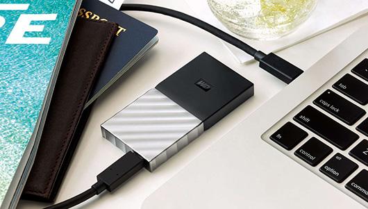 Western Digital представила портативный SSD-накопитель