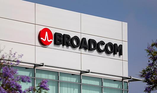 Квартальные продажи Broadcom выросли на 28% до 5,3 млрд долл.