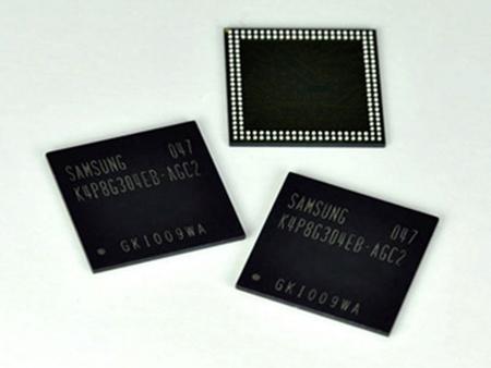 Samsung разработала быстродействующую мобильную DRAM