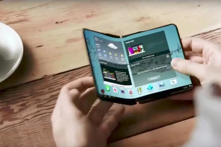 Складной смартфон Samsung с гибким экраном ожидается в начале 2019 г.