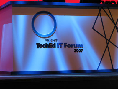 TechEd IT Forum фоторепортаж с места событий