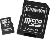 Kingston microSDHC 16GB с прицелом на коммуникаторы